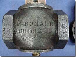 example gas cock valve #1